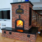 Brick and Soapstone Masonry Heater