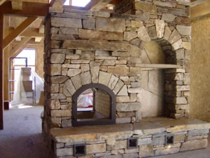 Masonry Heater - Side 1